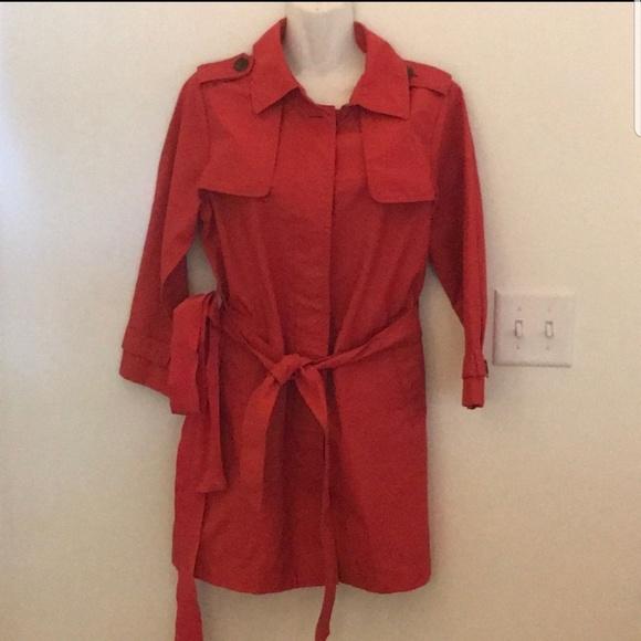 GAP Jackets & Blazers - Gap red trench coat